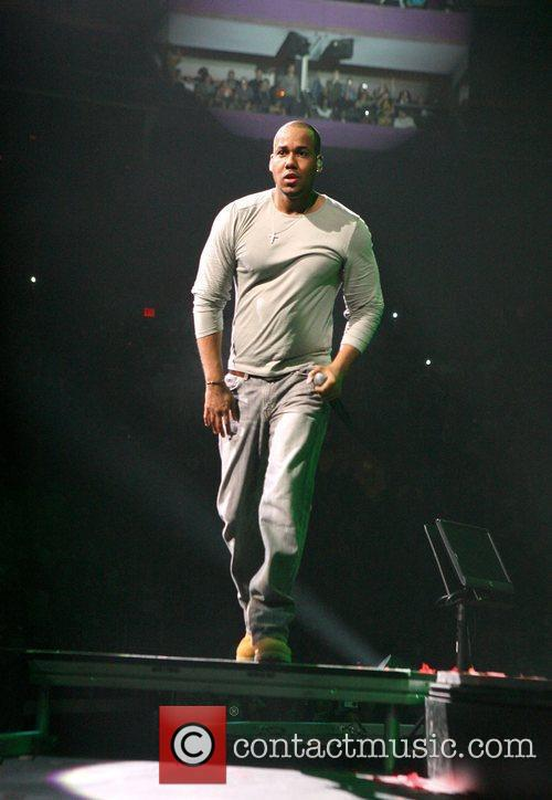 Romeo performing live in concert at Madison Square...