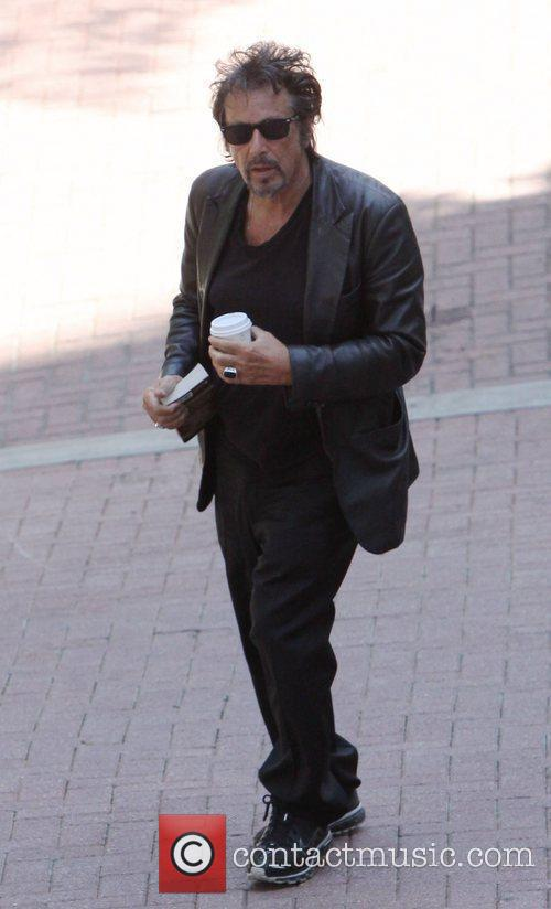 Al Pacino, Dressed In All Black and Was Seen Heading Into A Building For A Meeting In West Hollywood 4