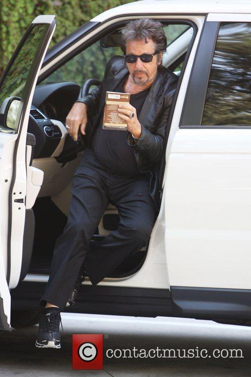 photo of Al Pacino Range Rover - car
