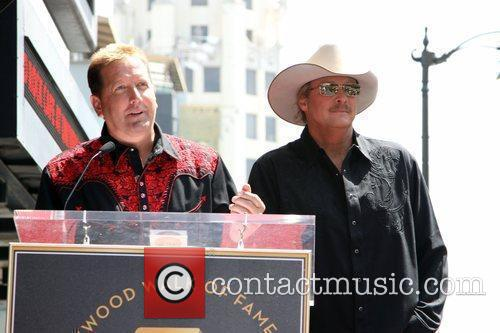 Alan Jackson is honoured with the 2405th star...