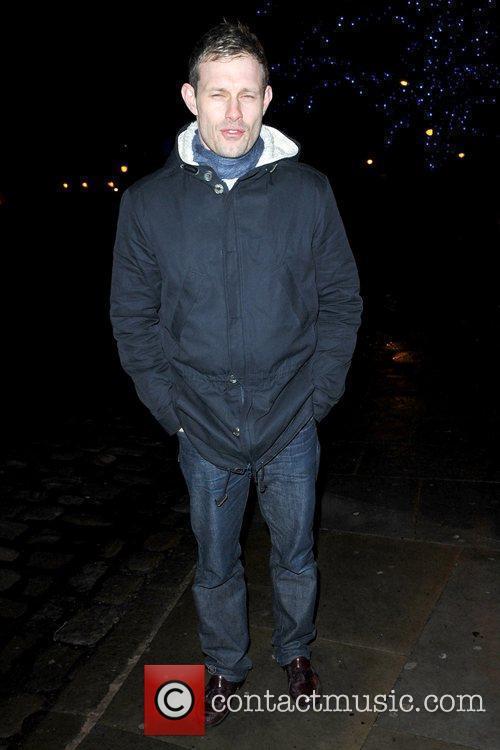 Ben Price cast of Coronation Street outside Albert's...