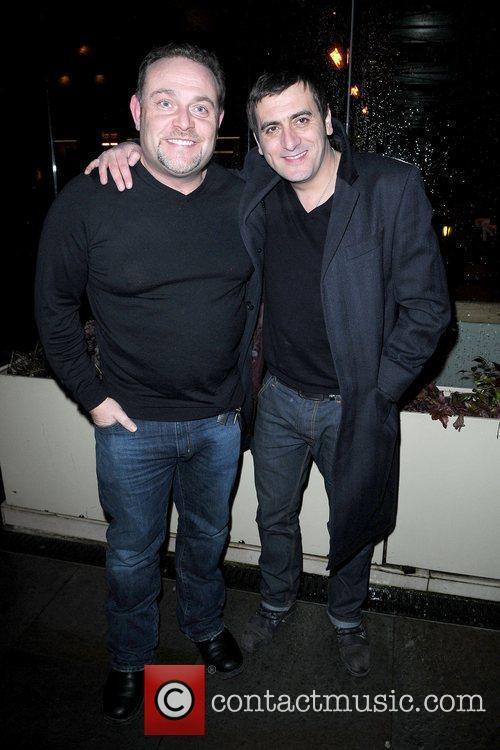 John Thompson and Chris Gascoyne cast of Coronation...