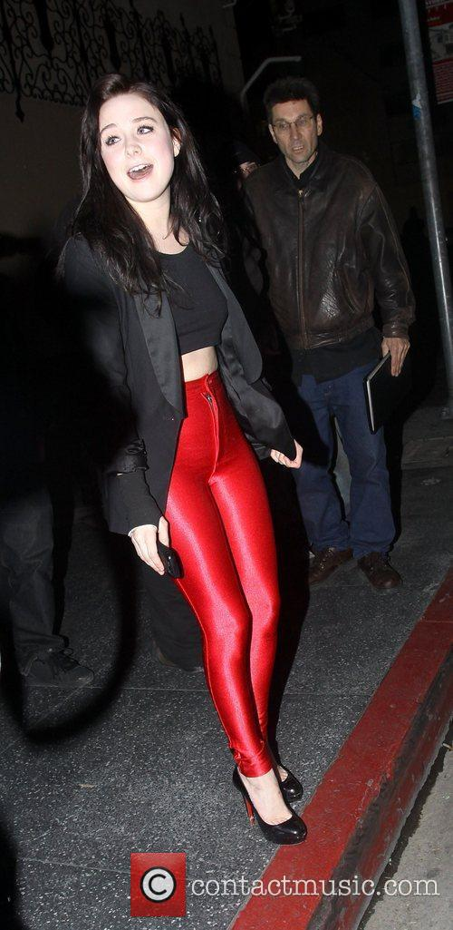 Alessandra Toreson sporting a pair of skin tight...