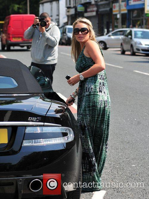 Alex Curran and Steven Gerrard 2