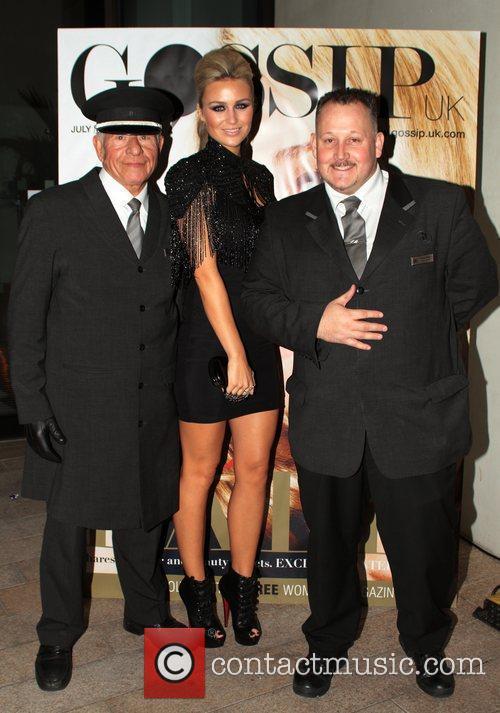 Alex Curran  Juice FM Style Awards held...