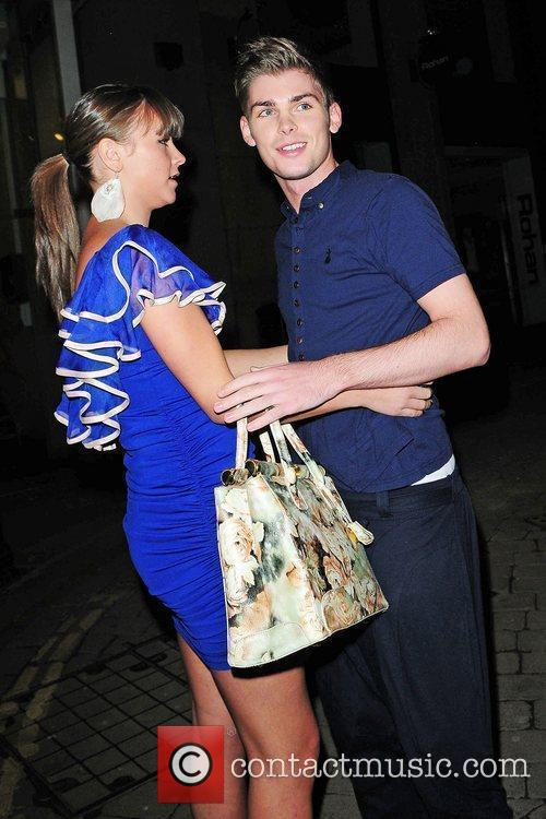 Kieron Richardson and Brooke Vincent 1