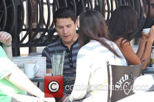 'Twilight' star Alex Meraz having a conversation with...