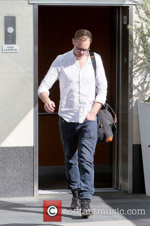 Arriving at Equinox Fitness Club on Sunset Boulevard