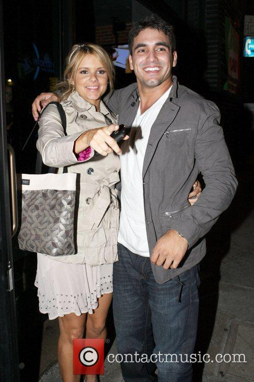 'The Bachelorette' star Ali Fedotowsky with Roberto Martinez,...