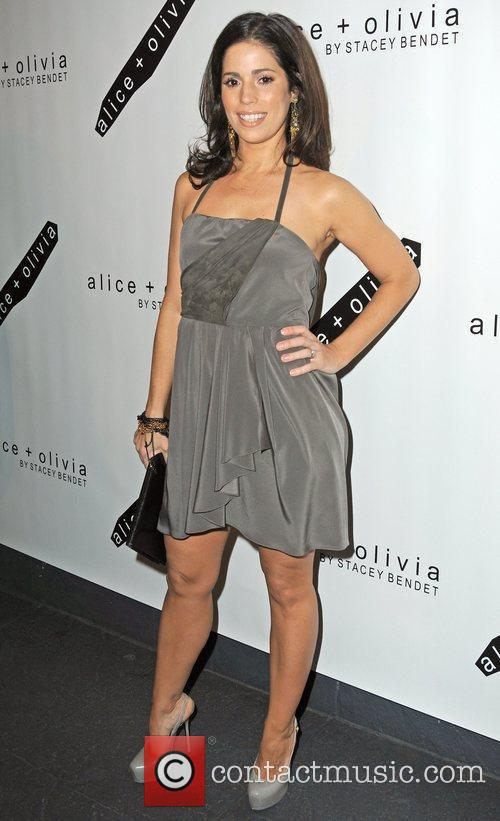 Actress Ana Ortiz attends the Alice + Olivia...