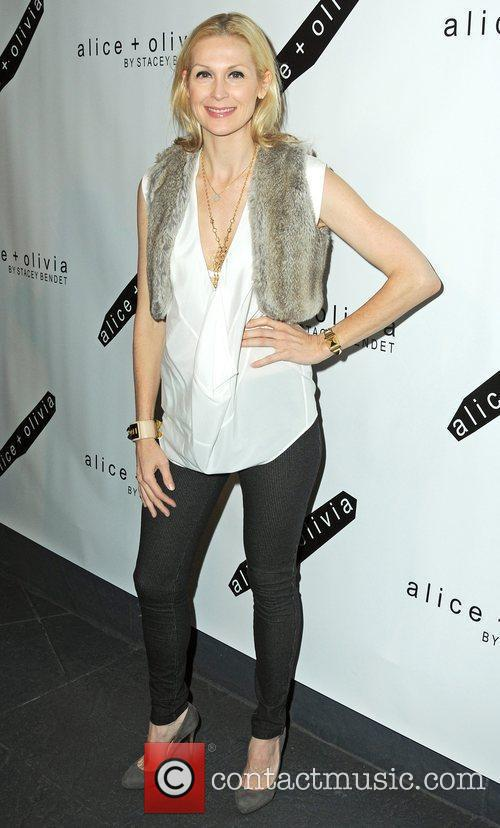 Actress Kelly Rutherford attends the Alice + Olivia...