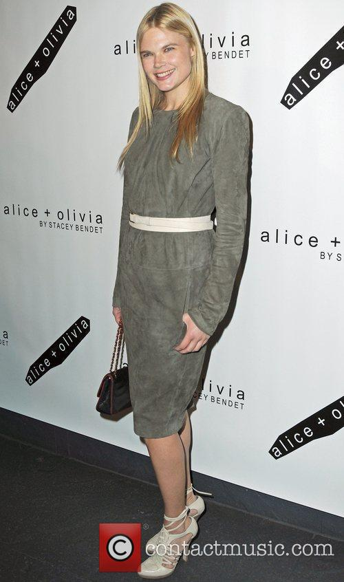 Kate Schelter attends the Alice + Olivia Fall...