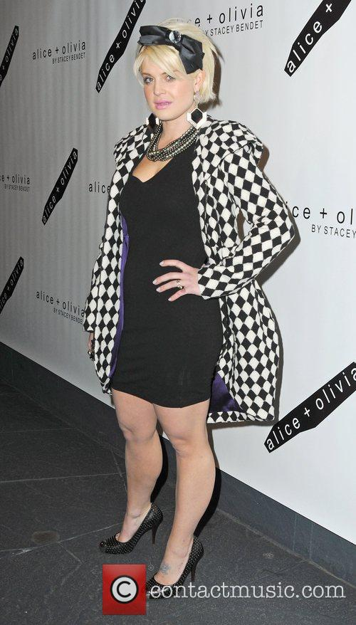 Kelly Osbourne attends the Alice + Olivia Fall...