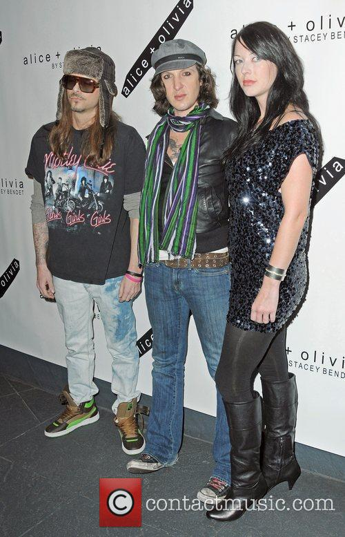 Rapper Mickey Avalon attends the Alice + Olivia...