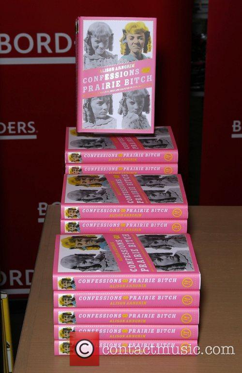 Copies of Alison Arngrim's book 'Confessions of a...