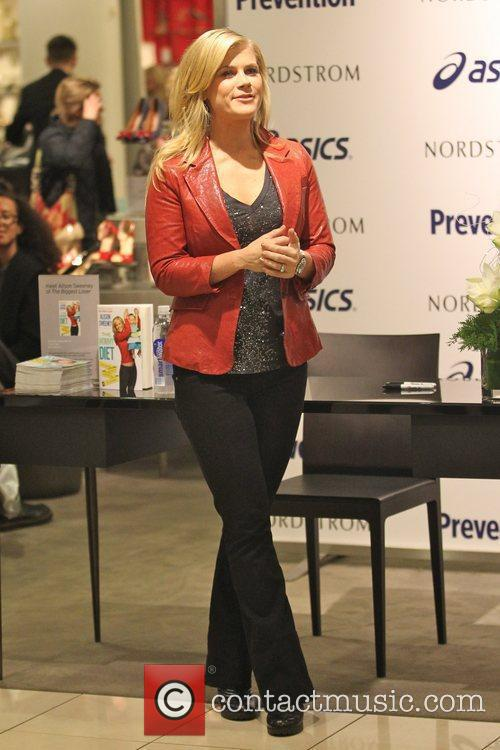 Alison Sweeney  attends her book signing for...