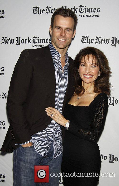 Cameron Mathison and Susan Lucci All My Children...