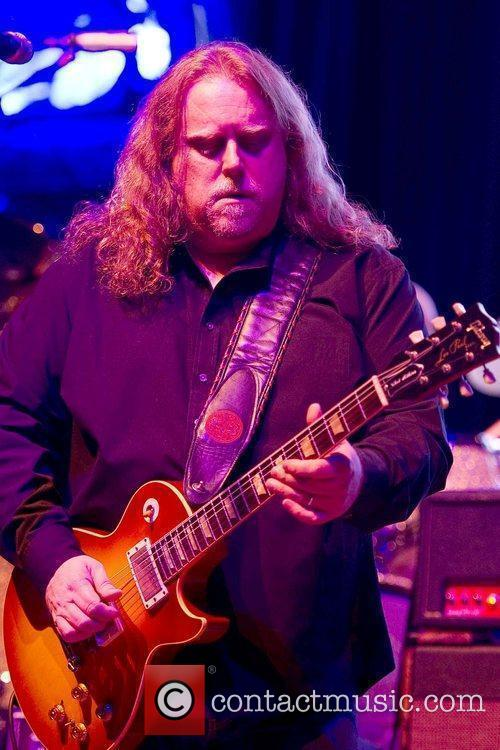 Warren Haynes The Allman Brothers Band performing live...
