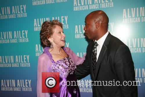 Joan Weill and Tracy Inman Alvin Ailey Opening...