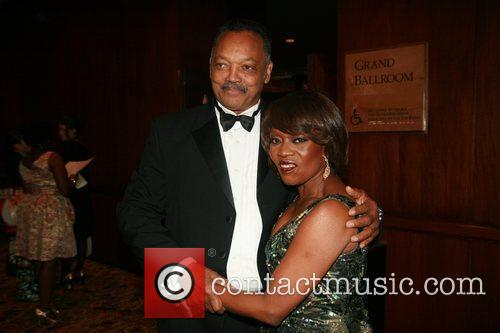 Reverend Jesse Jackson and Alfre Woodard  Alvin...