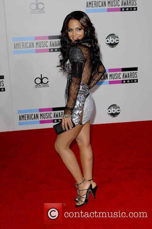 2010 American Music Awards (AMAs) held at the...