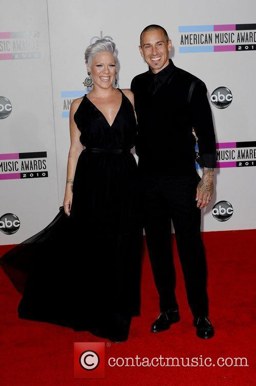 Pink, Alecia Moore and Carey Hart 1