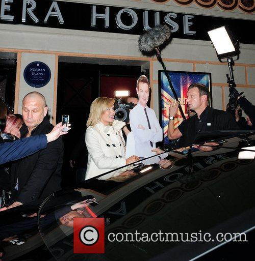 Leaves the 'Britain's Got Talent' auditions carrying a...