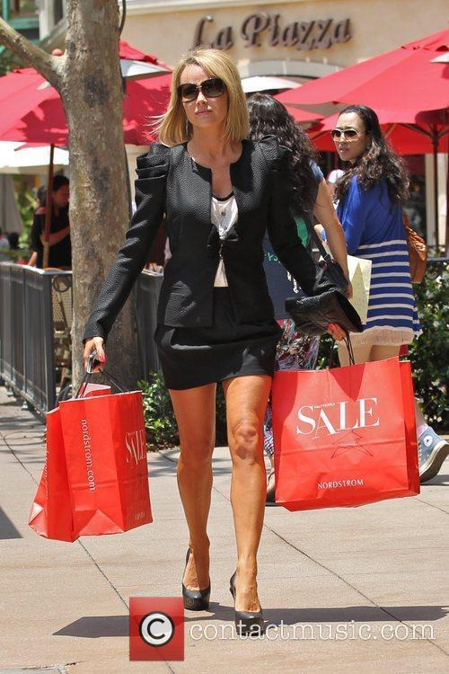 Amanda Holden  hits the sales at Nordstrom...