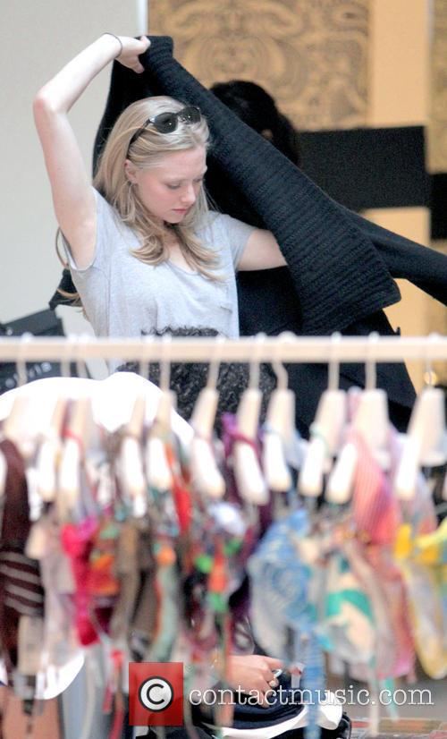 Amanda Seyfried shops at Alice + Olivia boutique...