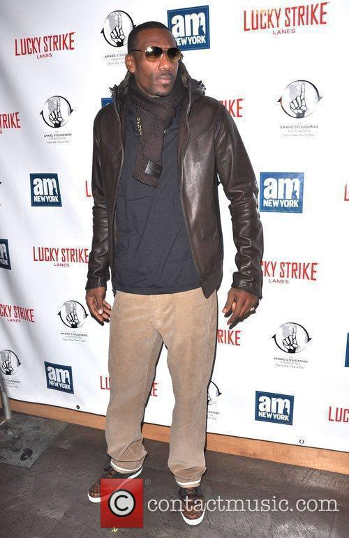 Amar'e Stoudemire Celebrities and Athletes attend a 'Welcome...