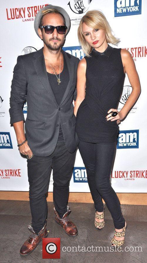 Eddie The Gun and Camilla Romestrand Celebrities and...