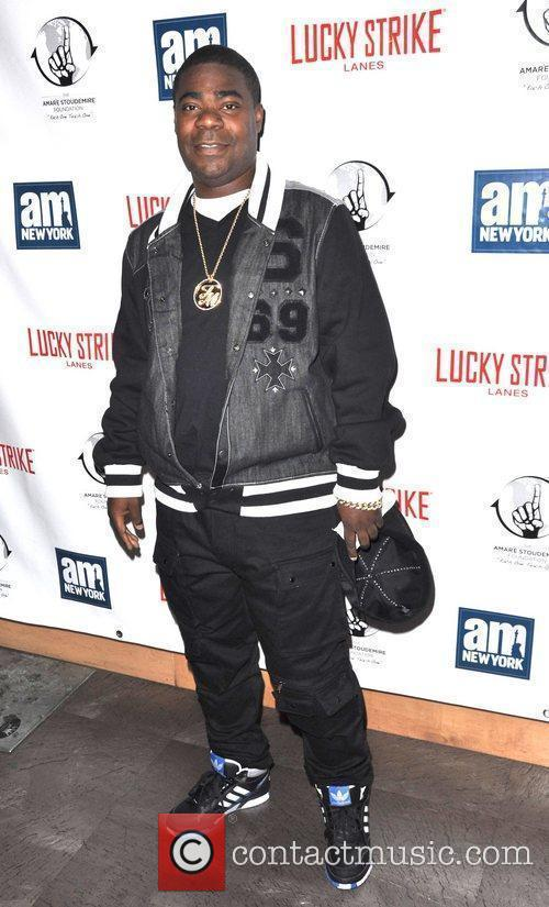 Tracy Morgan Celebrities and Athletes attend a 'Welcome...
