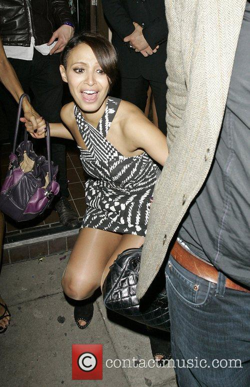 *file photos* Sugababes star Amelle Berrabah has been...