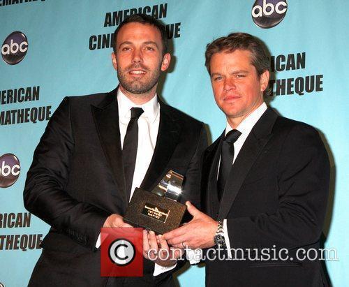Ben Affleck and Matt Damon The American Cinematheque...