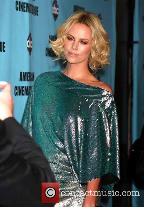 Charlize Theron The American Cinematheque 24th Annual Award...