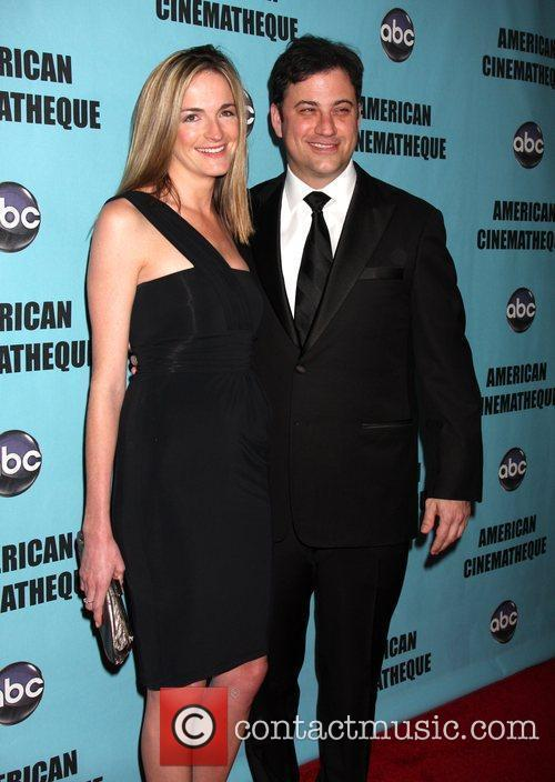 Molly McNearney and Jimmy Kimmel  The American...