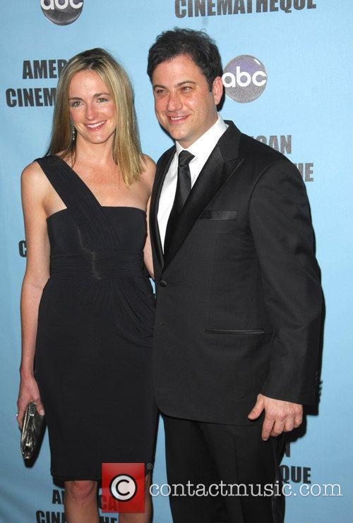 Molly McNearney and Jimmy Kemmel The American Cinematheque...
