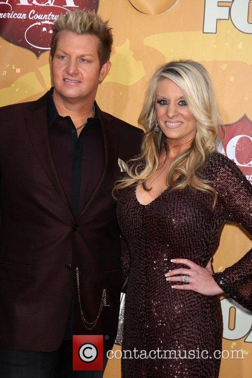 Gary LeVox and his wife The 2010 American...