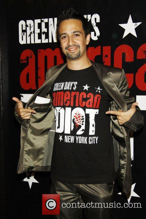 Lin-manuel Miranda and Green Day 2