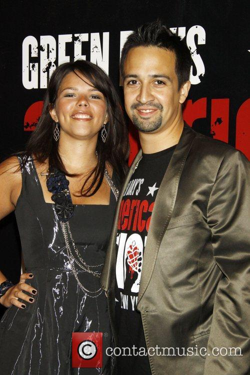 Lin-manuel Miranda and Green Day 1
