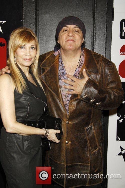 Steven Van Zandt and Wife  Opening night...