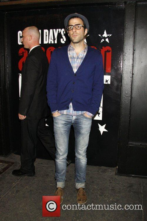 Zachary Quinto and Green Day 3