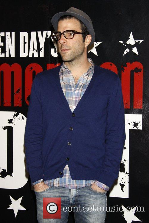 Zachary Quinto and Green Day 2
