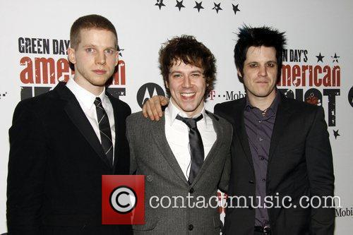 Stark Sands, Green Day and John Gallagher 7