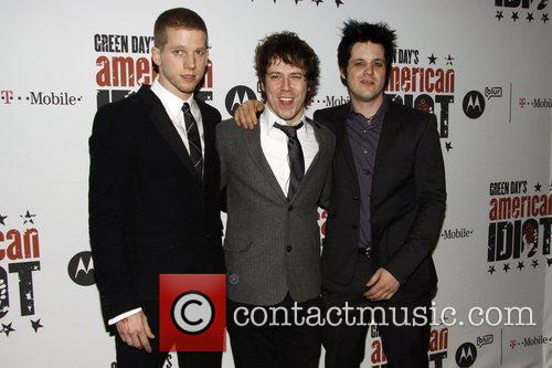 Stark Sands, Green Day and John Gallagher 8