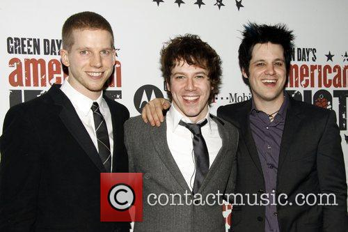 Stark Sands, Green Day and John Gallagher 3