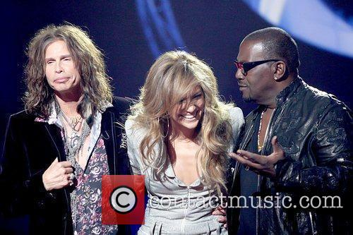 Steven Tyler, American Idol, Jennifer Lopez and Randy Jackson 5