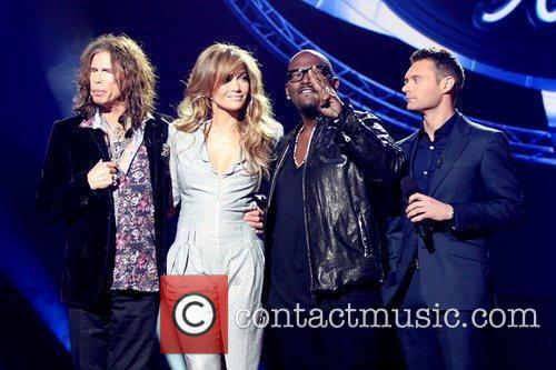 Steven Tyler, American Idol, Jennifer Lopez, Randy Jackson and Ryan Seacrest 2