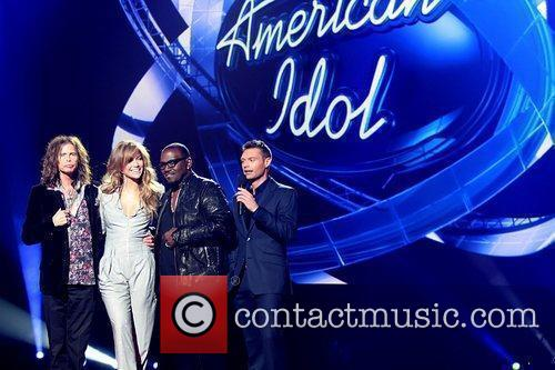 Steven Tyler, American Idol, Jennifer Lopez, Randy Jackson and Ryan Seacrest 3