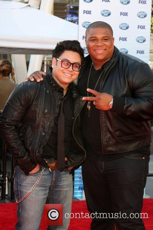 Andrew Garcia & Michael Lynche The American Idol...